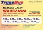 Kazimierz Dolny Kierunek Warszawa