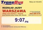 Naleczow Kierunek Warszawa